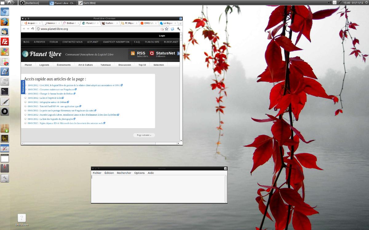 LXDE - Lubuntu 11.10